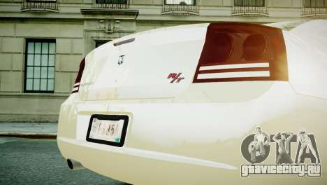 Dodge Charger RT 2006 для GTA 4 вид справа