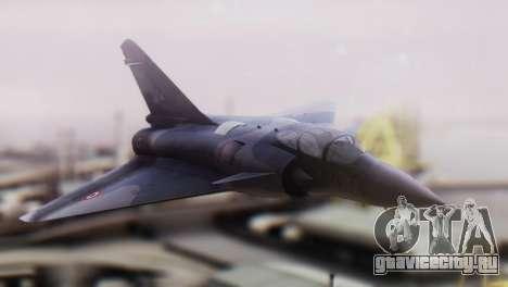 Dassault Mirage 4000 French Air Force для GTA San Andreas вид сзади