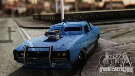 GTA 5 Imponte Dukes ODeath для GTA San Andreas вид сзади