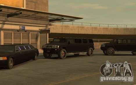 Mammoth Patriot Limousine для GTA 4 вид сзади слева
