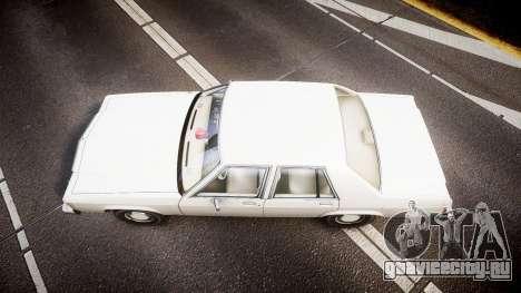 Ford LTD Crown Victoria 1987 Detective [ELS] v2 для GTA 4 вид справа