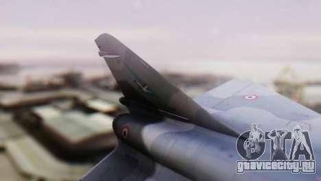 Dassault Mirage 4000 French Air Force для GTA San Andreas вид сзади слева