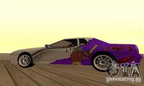 Винил Elegy Winged для GTA San Andreas вид слева