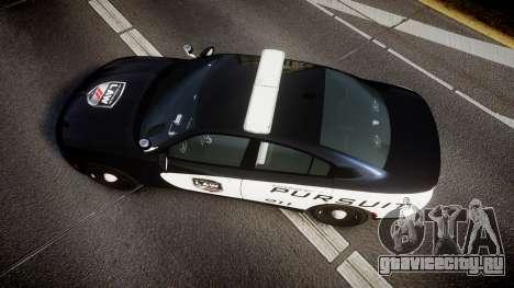 Dodge Charger SXT AWD 2015 PPV [ELS] для GTA 4 вид справа