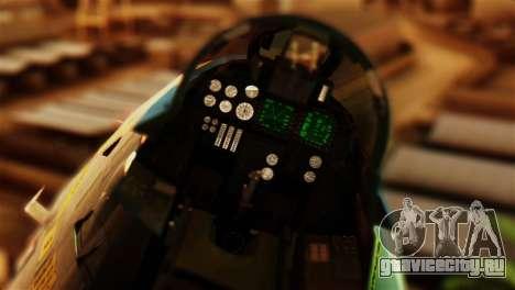 F-14D VF-213 Black Lions для GTA San Andreas вид сзади