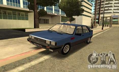 Renault 11 TXE Taxi для GTA San Andreas вид слева