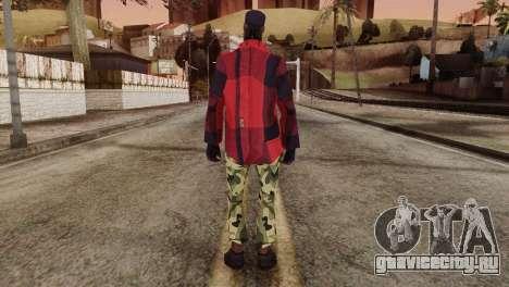 New Homeless Skin для GTA San Andreas второй скриншот