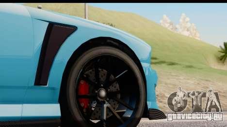 GTA 5 Bravado Buffalo S Sprunk IVF для GTA San Andreas вид сзади