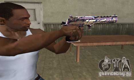 Good Look Like Deagle для GTA San Andreas