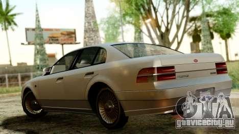 GTA 4 Intruder для GTA San Andreas вид сзади слева