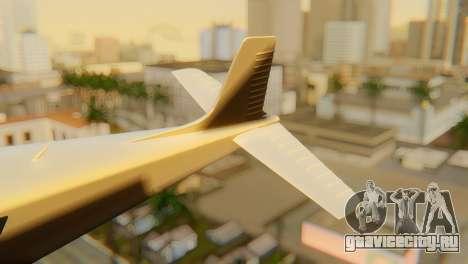 GTA 5 Dodo v1 для GTA San Andreas вид сзади слева