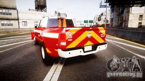 Dodge Ram 3500 2013 Utility [ELS] для GTA 4 вид сзади слева
