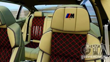 BMW M550d для GTA San Andreas вид сзади