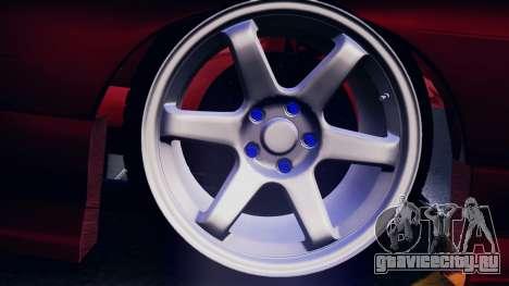 Nissan 180SX для GTA San Andreas вид изнутри