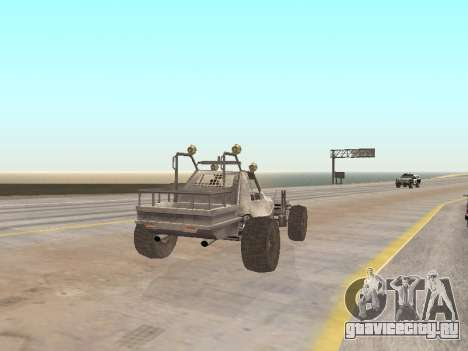 Buggy from Just Cause для GTA San Andreas вид сзади слева