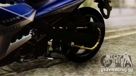 Yamaha MX KING 150 для GTA San Andreas вид сзади