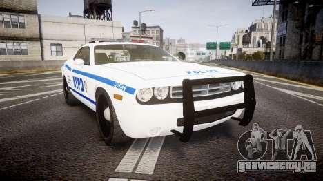 Dodge Challenger NYPD [ELS] для GTA 4