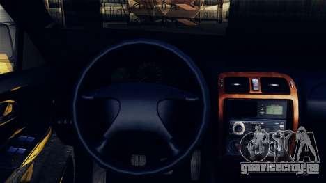 Mazda 626 для GTA San Andreas вид сзади