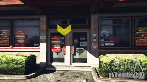Рабочие рестораны v1.0.2 для GTA 5 второй скриншот