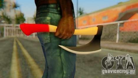 Топор для GTA San Andreas третий скриншот