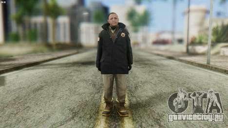 Snowcop Skin from GTA 5 для GTA San Andreas