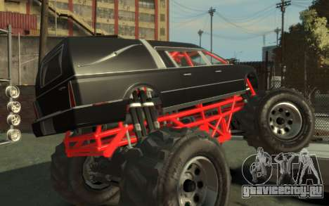 Albany Undertaker (Romero Monster) для GTA 4 вид слева