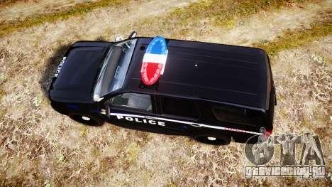 Chevrolet Tahoe SPVQ [ELS] для GTA 4 вид справа