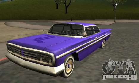 Luni Voodoo Remastered для GTA San Andreas колёса