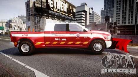 Dodge Ram 3500 2013 Utility [ELS] для GTA 4 вид слева
