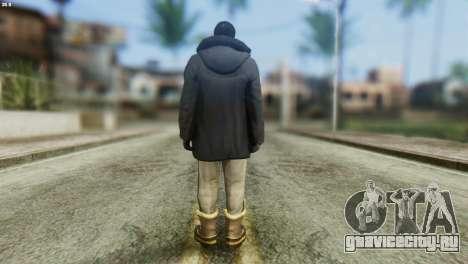 Snowcop Skin from GTA 5 для GTA San Andreas второй скриншот
