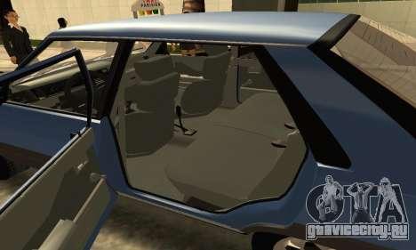 Renault 11 TXE Taxi для GTA San Andreas вид сверху
