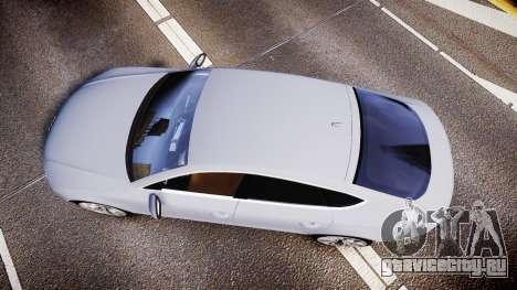 Audi A7 для GTA 4 вид справа