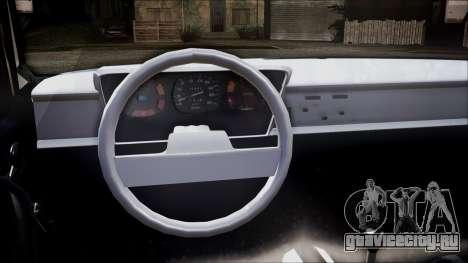 Renault 12 TL для GTA San Andreas вид сзади слева