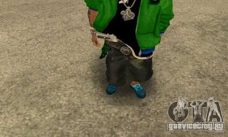 Groove St. Nigga Skin Second для GTA San Andreas второй скриншот