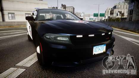 Dodge Charger SXT AWD 2015 PPV [ELS] для GTA 4