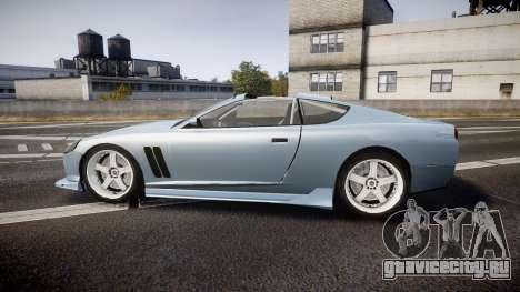 Dewbauchee Super GT Tuning для GTA 4 вид слева