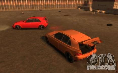 Karin Sultan Hatchback v2 для GTA 4 вид сверху