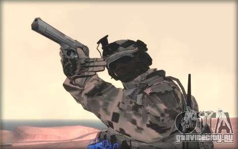 BF3 Soldier для GTA San Andreas третий скриншот