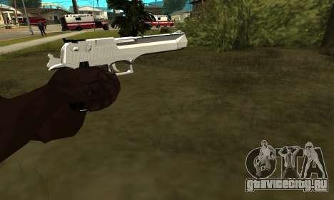 Metalic Deagle для GTA San Andreas второй скриншот