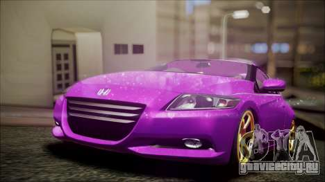 Honda CRZ Hybird Pink Cute для GTA San Andreas