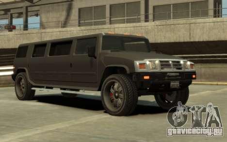Mammoth Patriot Limousine для GTA 4