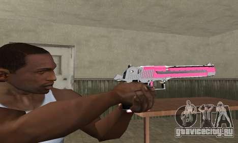 Pink Deagle для GTA San Andreas второй скриншот