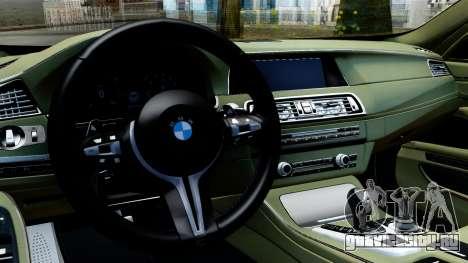 BMW M550d для GTA San Andreas вид справа