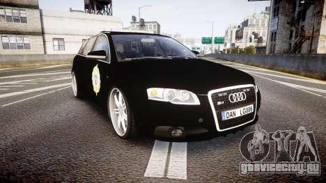 Audi S4 Avant Serbian Police [ELS] для GTA 4