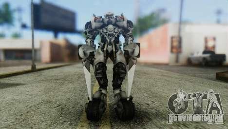 Sideswipe Skin from Transformers v1 для GTA San Andreas второй скриншот