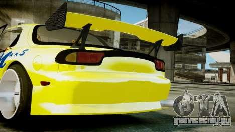 Mazda RX-7 FD3S BN Sports для GTA 4 вид справа