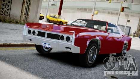 Virgo from GTA 5 v2 для GTA 4
