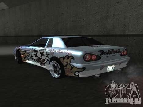 Elegy Paintjobs для GTA San Andreas вид справа