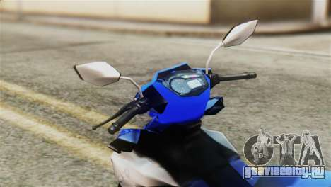 Yamaha MX KING 150 для GTA San Andreas вид справа