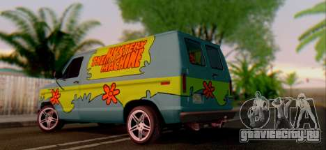 Ford E-150 Scooby Doo для GTA San Andreas вид справа